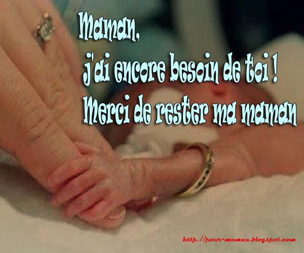 je t aime maman 3 Image message   mots pour maman