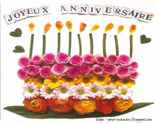 message anniversaire belle mere 50 ans