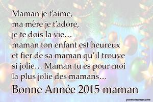 Carte bonne année 2015 pour maman 111 300x200 Carte bonne année 2015 pour maman