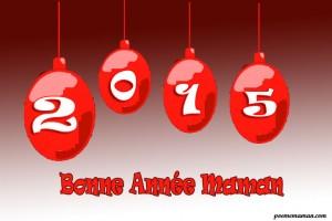 Carte bonne année 2015 pour maman 300x200 Messages Bonne année maman