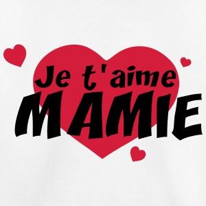 je t aime mamie t shirt premium enfant Modèle de texte fête des grand mères